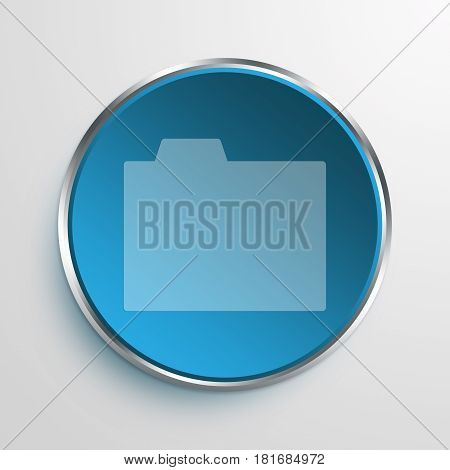 Blue Sign directory Symbol icon Business Concept