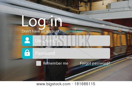 User Login Account Setting Interface