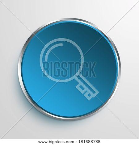 Blue Sign Keywords Symbol icon Business Concept