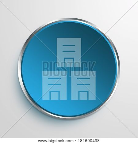 Blue Sign offices Symbol icon Business Concept