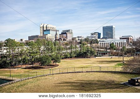 columbia city of south carolina in downtown