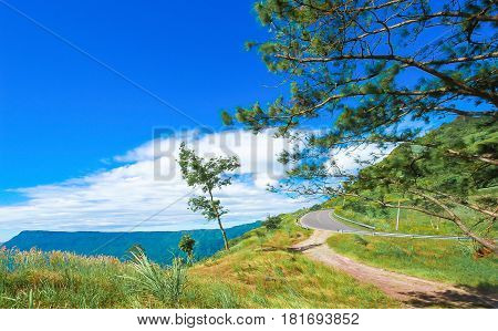 Nature in the mountains beautiful scenery beautiful mountain scenery the Carpathian Mountains a village in the mountains