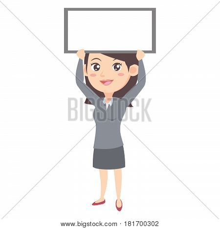 Business women character style vector illustration stock