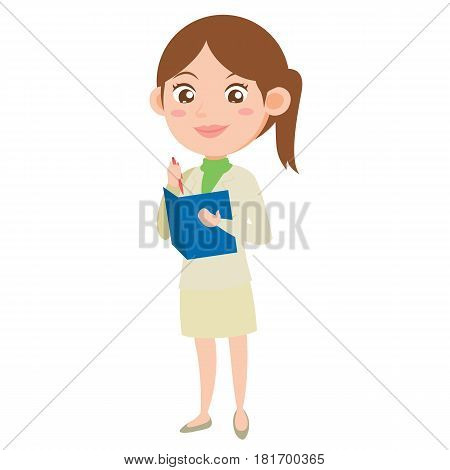 Character business women collection vector illustration stock