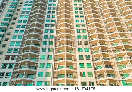 building, residential, modern, details, front view, residence, object, industry, construction, wall, architecture, details, brick, bricks, apartment, apartments, high, outdoor, urban, city, house, concrete, industrial, yellow, brown, orange, white, archi