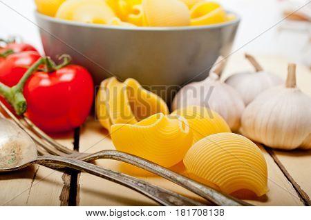 Italian Snail Lumaconi Pasta With Tomatoes