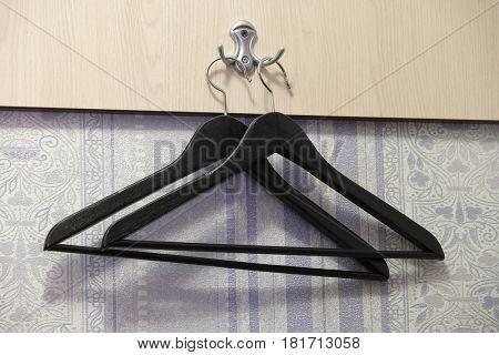 Hanger on a hook