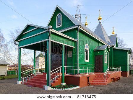 Temple in honor of St. Martyr Athanasius igumen of Brest St. Afanasyevskiy Monastery Brest Belarus