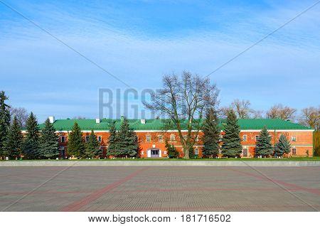 Building of Museum of Defense of Brest Fortress Brest Belarus