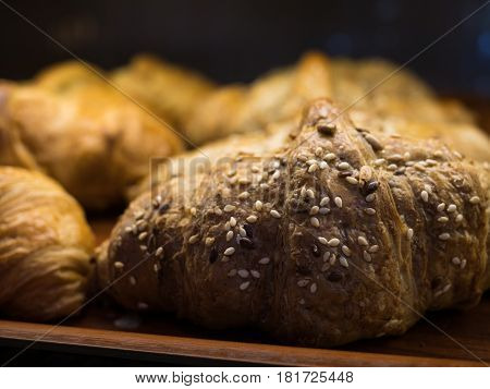 Fresh Healthy Pastry On A Shelf
