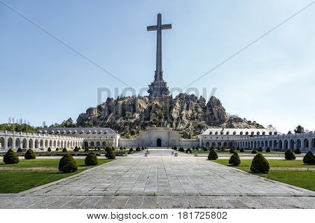 Valley of the Fallen Valle de los Caidos Madrid spain