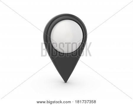 Map Marker 3D Illustration