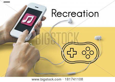Recreation Relax Enjoyment Leisure Hobby Joystick
