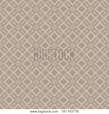 seamless sophisticated geometric pattern based on repetitive simple forms. vector illustration. for interior design, backgrounds, card, textile industry.