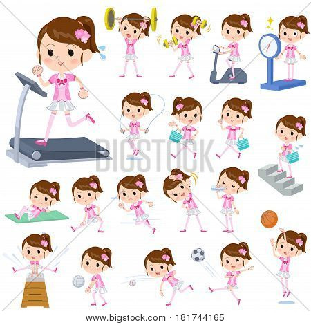 Pop Idol In Pink Costume Sports & Exercise