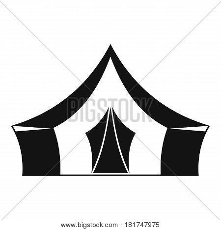 Tent, camping symbol icon. Simple illustration of tent, camping symbol vector icon for web