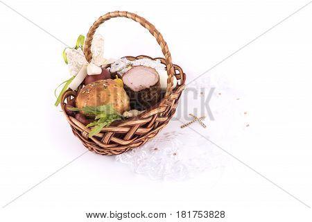 Small Children's Easter Basket Meal For Sanctify, Ukraine
