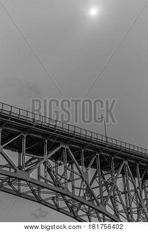Underside of Aurora Bridge - Seattle, Washington