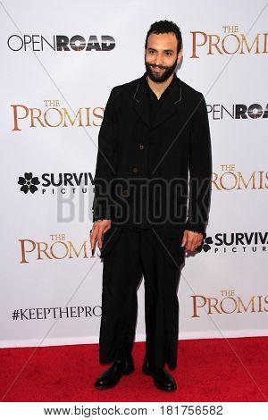 LOS ANGELES - APR 12:  Marwan Kenzari at the