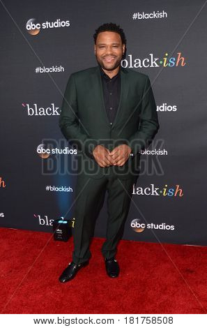 LOS ANGELES - APR 12:  Anthony Anderson at the