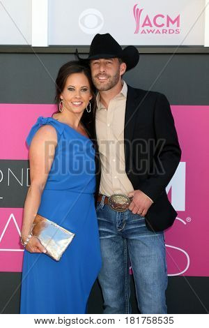 LAS VEGAS - APR 2:  Guest, Aaron Watson at the Academy of Country Music Awards 2017 at T-Mobile Arena on April 2, 2017 in Las Vegas, NV