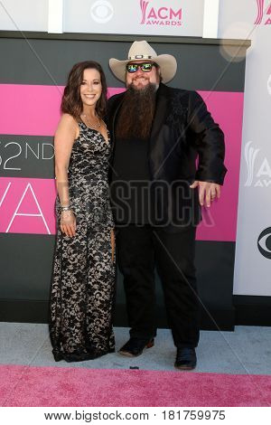 LAS VEGAS - APR 2:  Sundance Head at the Academy of Country Music Awards 2017 at T-Mobile Arena on April 2, 2017 in Las Vegas, NV
