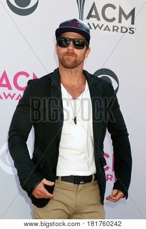 LAS VEGAS - APR 2:  Kip Moore at the Academy of Country Music Awards 2017 at T-Mobile Arena on April 2, 2017 in Las Vegas, NV