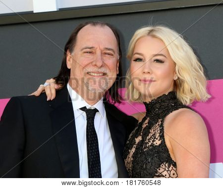 LAS VEGAS - APR 2:  Father, RaeLynn, Racheal Lynn Woodward at the Academy of Country Music Awards 2017 at T-Mobile Arena on April 2, 2017 in Las Vegas, NV