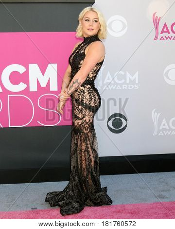 LAS VEGAS - APR 2:  RaeLynn, Racheal Lynn Woodward at the Academy of Country Music Awards 2017 at T-Mobile Arena on April 2, 2017 in Las Vegas, NV