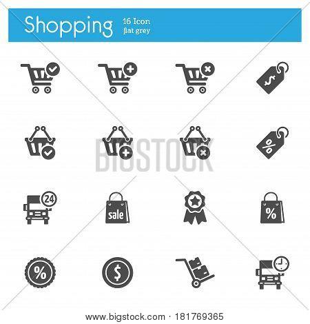 Shop vector icon Market vector icon Store vector icon