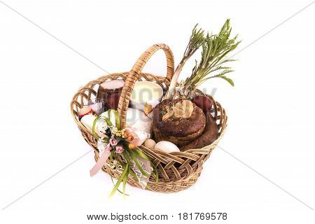 Easter Basket Meal For Sanctify, Ukraine