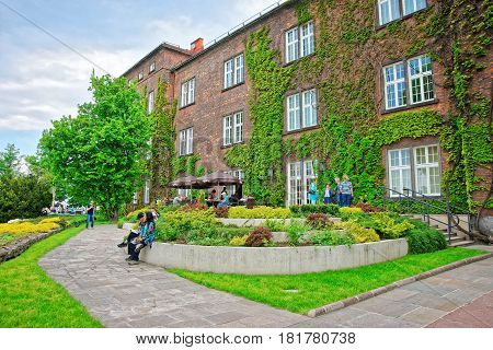 Inner Courtyard Of Wawel Castle Krakow