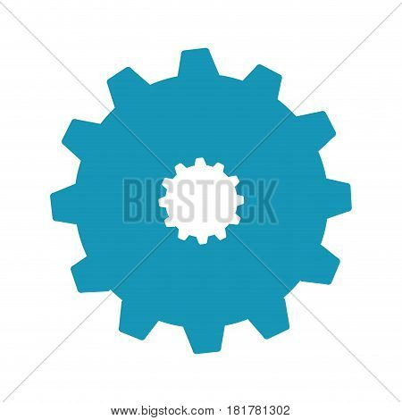 gear settings setup icon vector illustration design