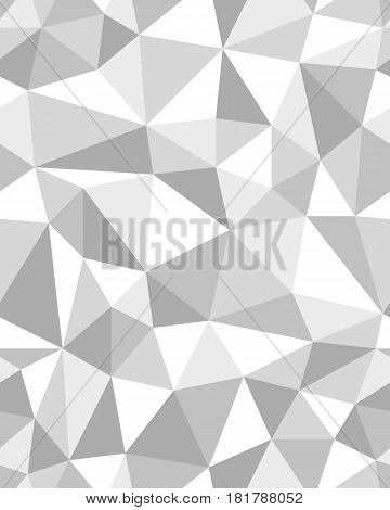 Seamless pattern of geometric gray texture, illistration