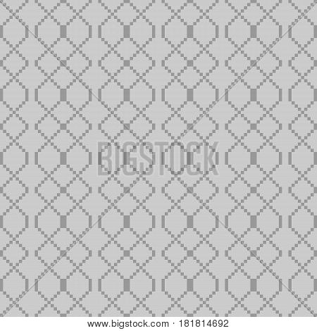 Simple Geometric Shapes Intertwined In A Complex Pattern
