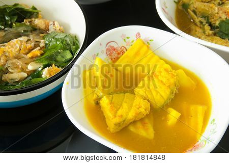 Thai Sour Curry Soup,Thai food