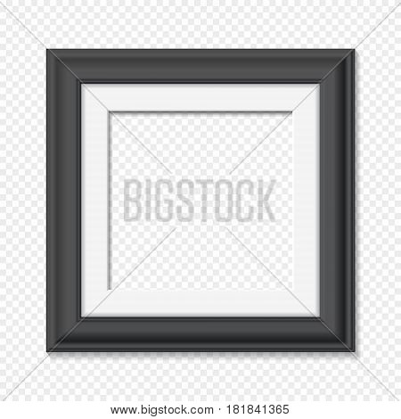 Vertical Square Black Frame, Vector