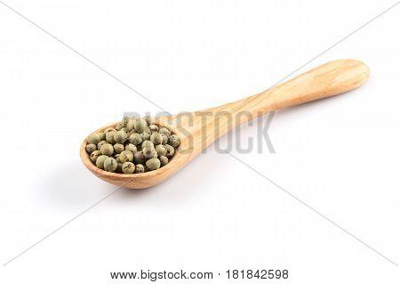 Green Spice Pepper Peppercorns