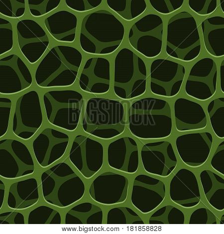 Seamless pattern porous structure. Vector version of the file is fully editable.