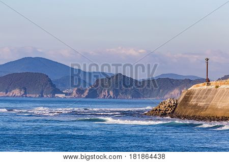 Nichinan coastline in Miyazaki Kyushu Japan in the morning