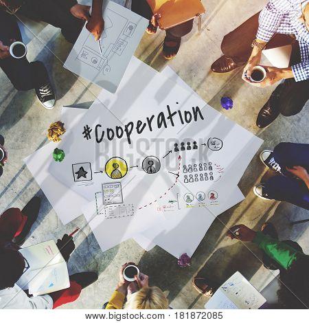 Cooperation Alliance Business Teamwork Success