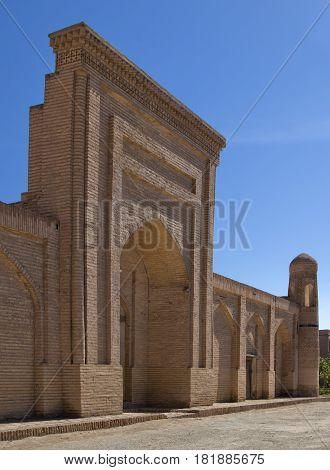 Madrasah in the Old Town in Khiva, Uzbekistan