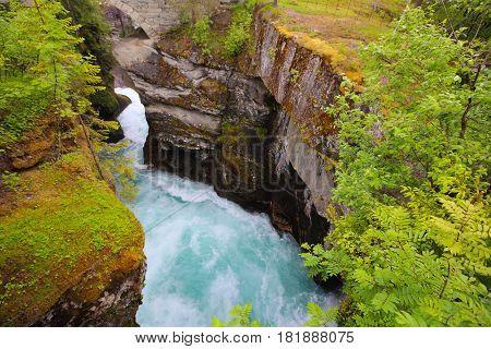 Glacial River, Norway