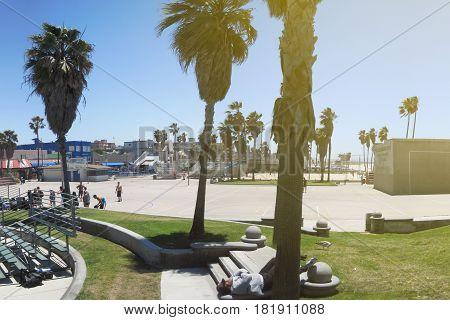 Venice Beach Panorama