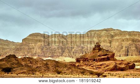 Viiew Of Red Canyon