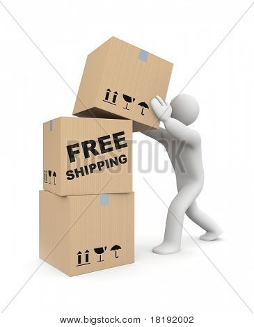 Free shipping metaphor