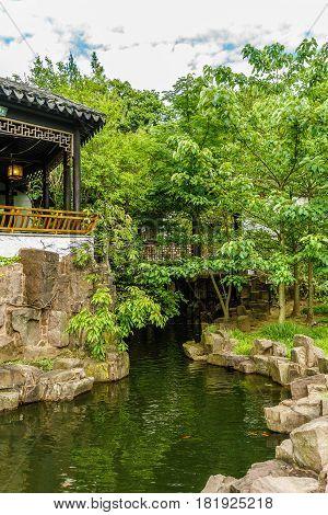 New York Chinese Scholar's Garden Staten Island NY