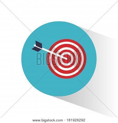target objetive marketing concept vector illustration eps 10