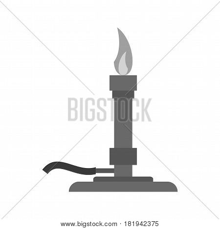 Burner, bunsen, science icon vector image. Can also be used for chemistry. Suitable for mobile apps, web apps and print media.