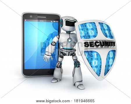 Smartphone And Robot